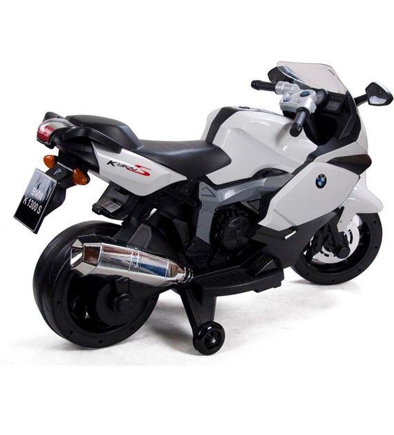 Elektrická motorka BMW bílá