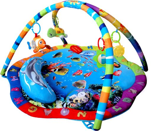 Podvodní svět Hrací deka Sunbaby