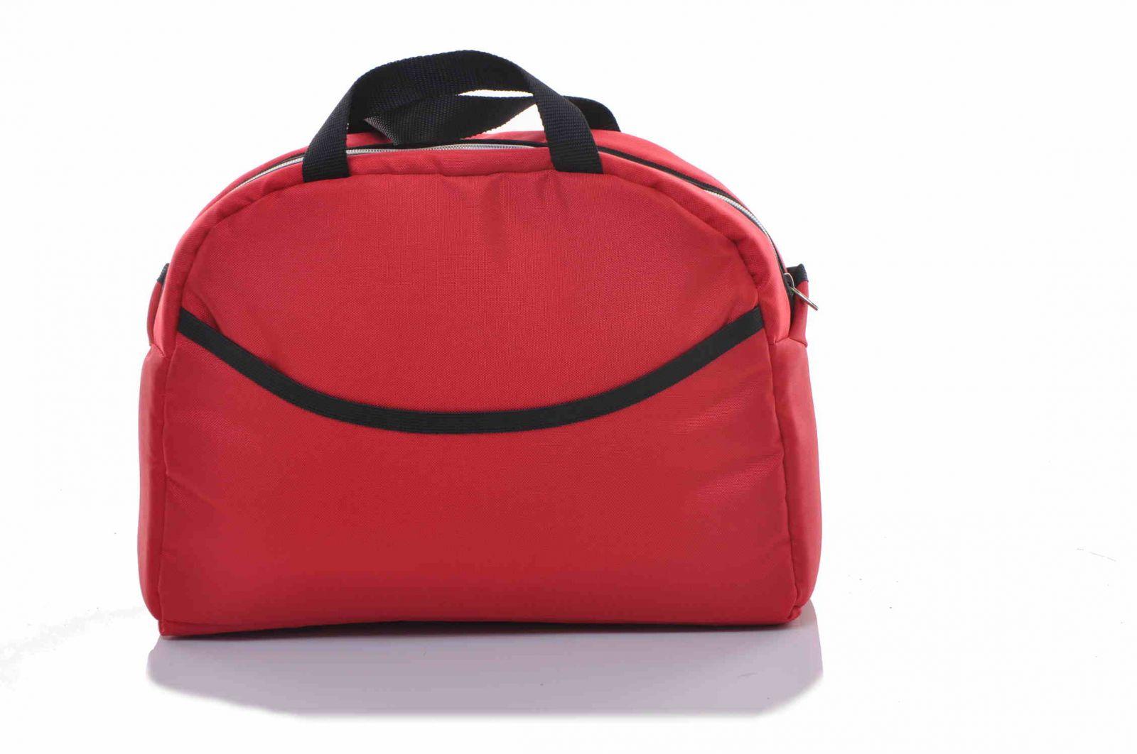 baby sky taška ke kočárku univerzální červená 7 Babysky_příslušenství
