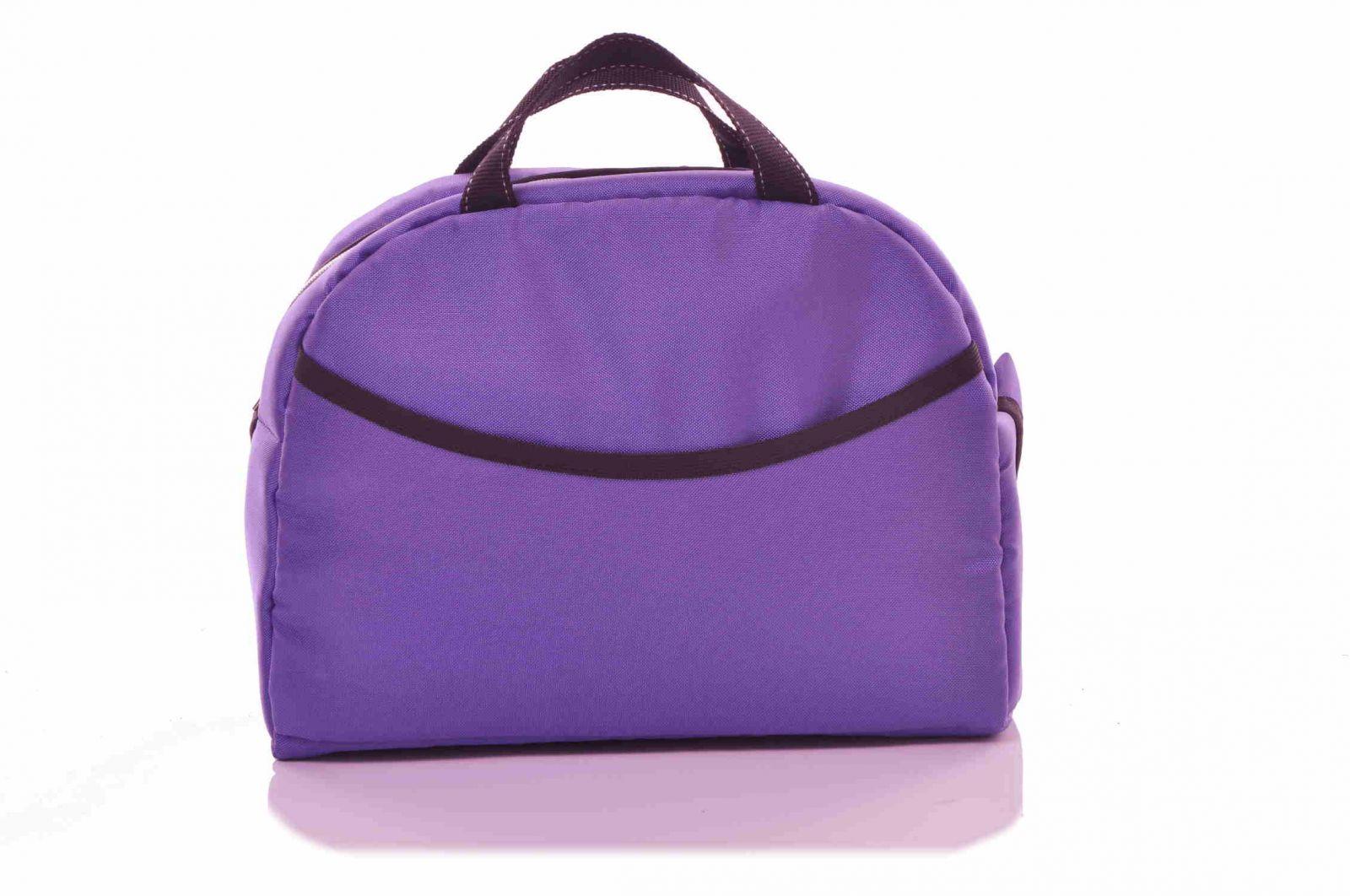 baby sky taška ke kočárku univerzální fialová 3