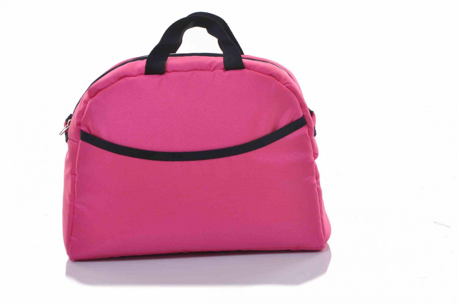 baby sky taška ke kočárku univerzální růžová 8
