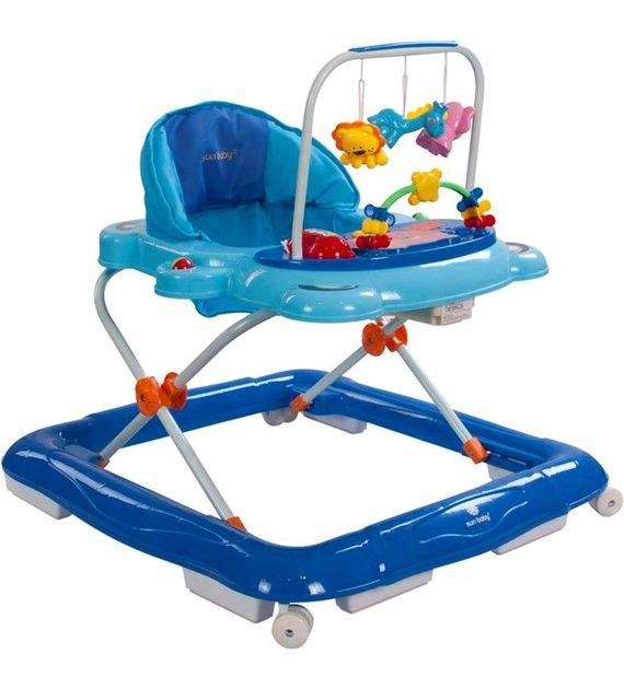 Dětské chodítko Sunbaby Footy 830EUK/1 modrá