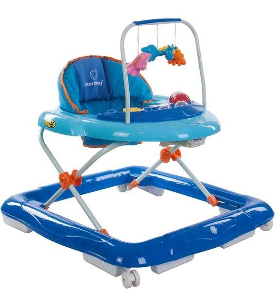 Dětské chodítko Sunbaby lux 850/1 modrá