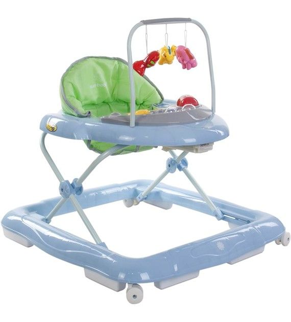 Dětské chodítko Sunbaby lux 850/1 zelená + modrá