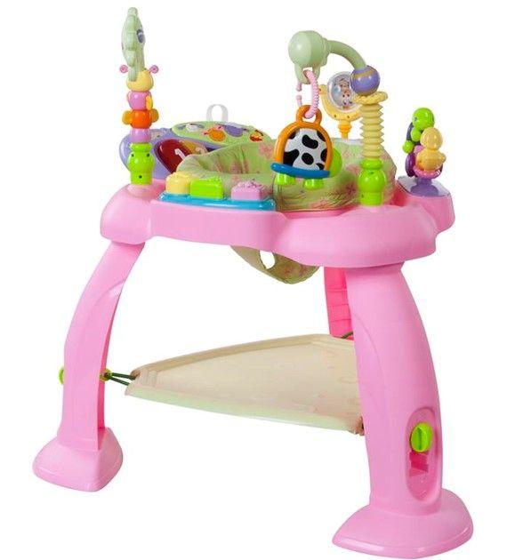 Interaktivní stoleček 004 růžový