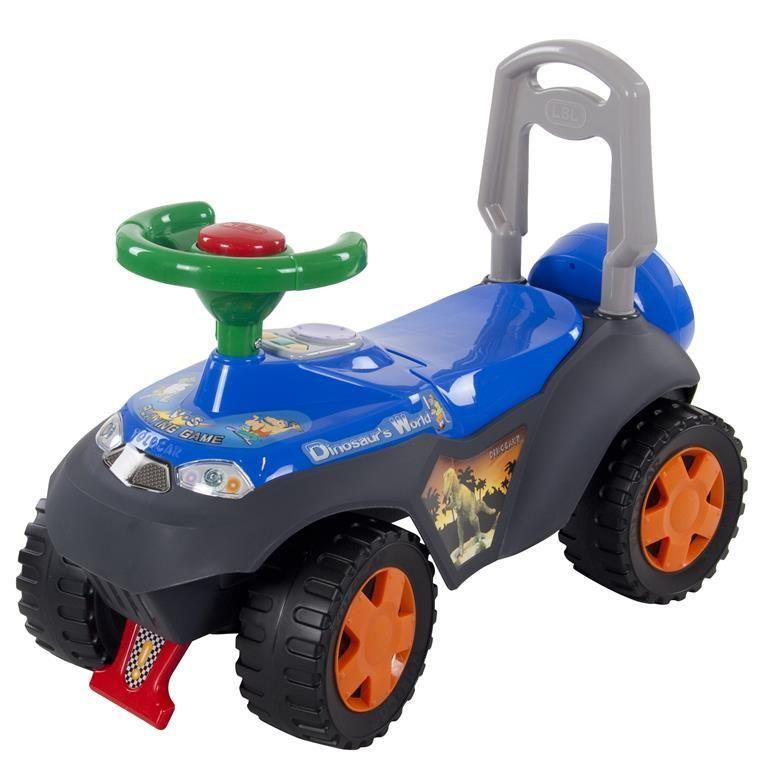 Jeep odrážedlo s melodiemi SP3101 modrá