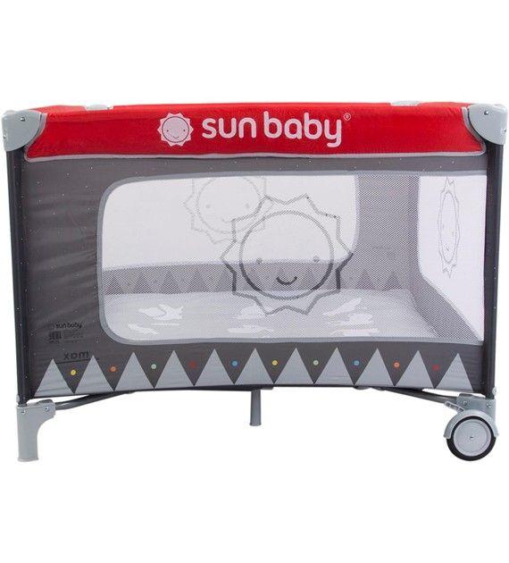 Ohrádka sun baby sweet dreams SD01 červená