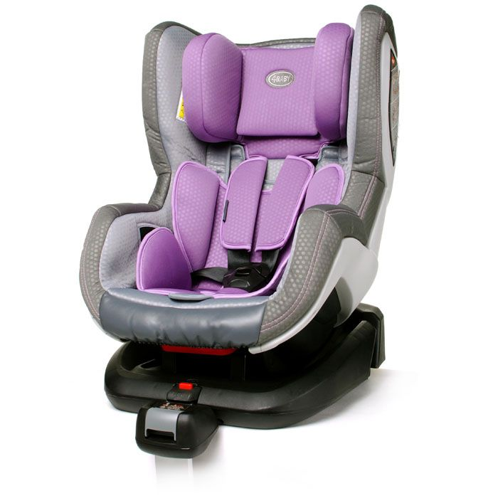 Autosedačka 0-18 kg s isofixem 4baby NEO-FIX Purple