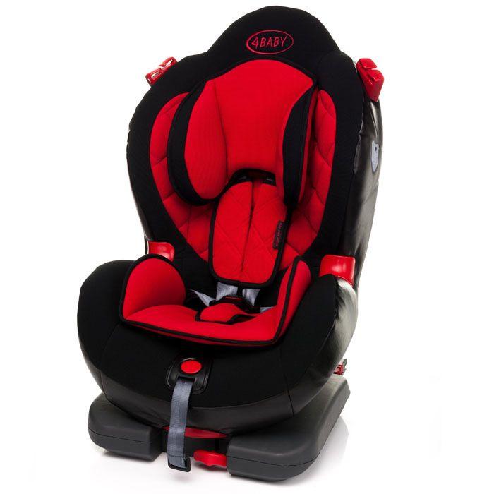 Autosedačka 9-25 kg s isofixem 4baby Weelmo-FIX Red