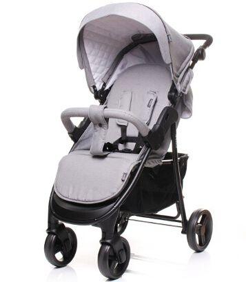 Sportovní kočárek 4baby Rapid Premium light grey