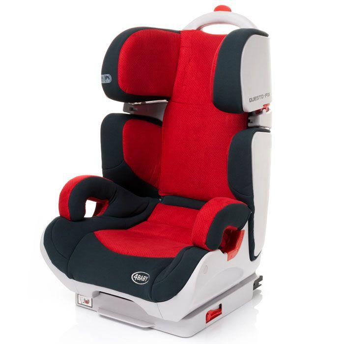 Autosedačka 15-36 kg s isofixem 4baby Questo-fix Red