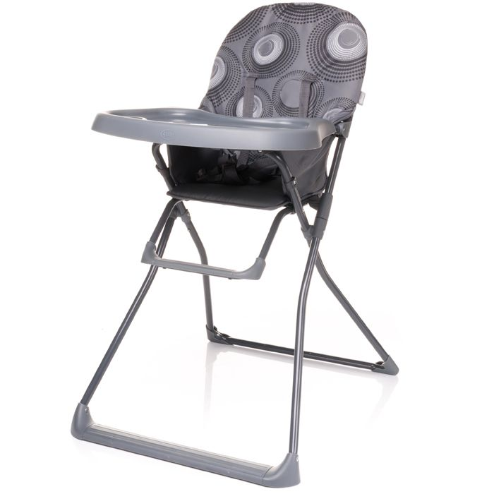 Jídelní židlička 4baby Flower Grey