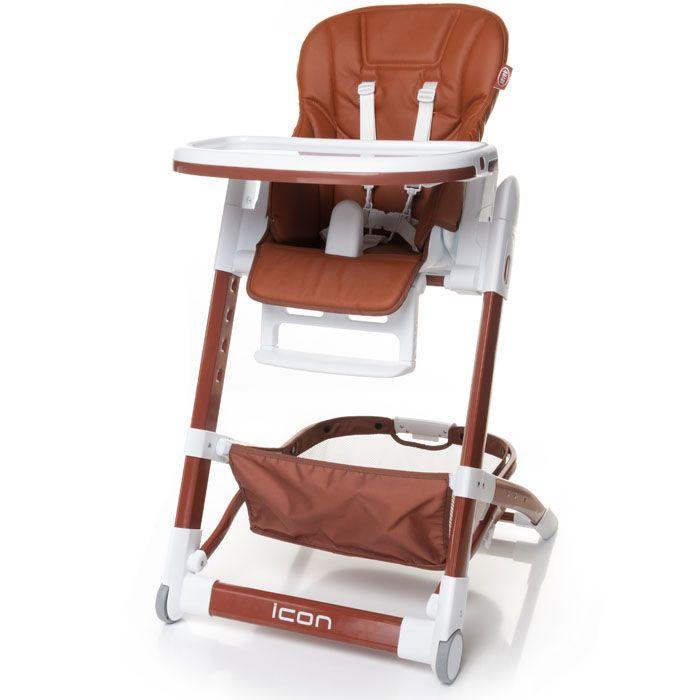 Jídelní židlička 4baby Icon Brown