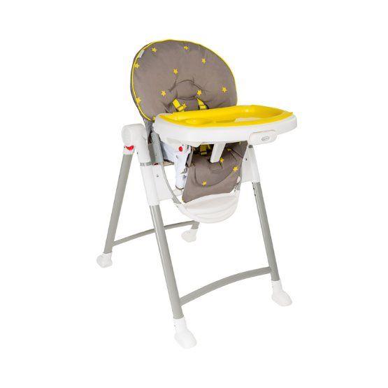 Jídelní židlička CONTEMPO Neon Sand