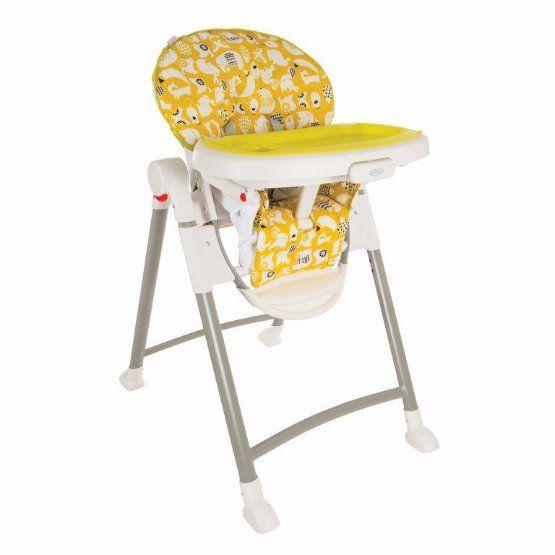 Jídelní židlička CONTEMPO SPRING LIME