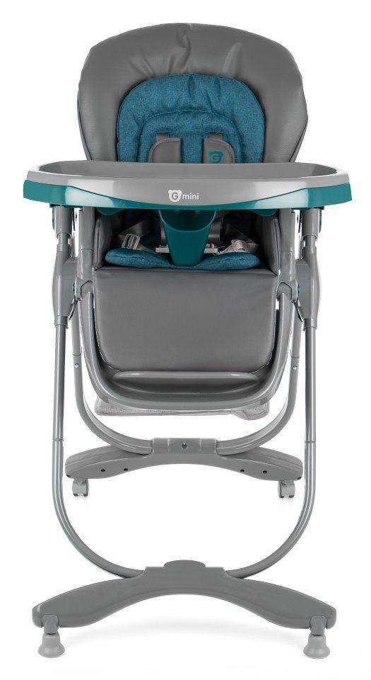 Jídelní židlička Mambo Lazurit