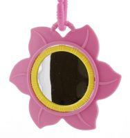 Růžová květinka Hrací deka Sunbaby PM20108