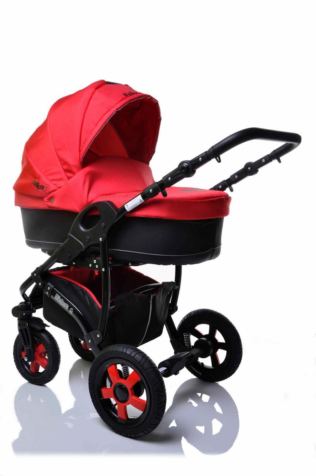 Sunbaby kombinovaný kočárek 2v1 Ibiza 2016 červená