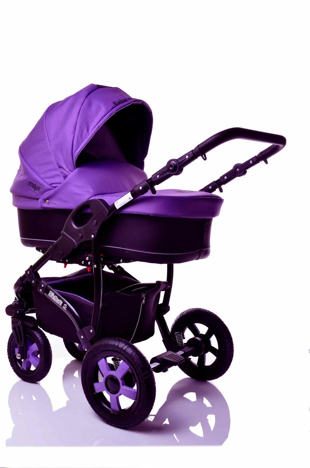 Sunbaby kombinovaný kočárek 2v1 Ibiza 2016 fialová