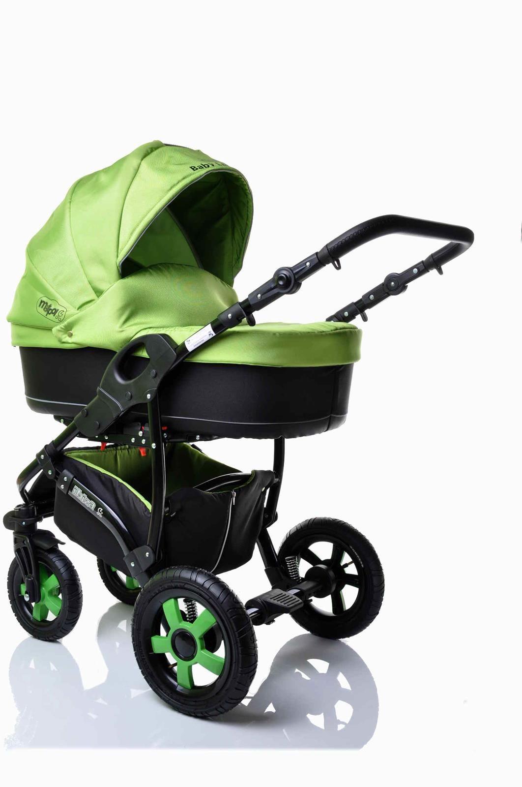 Sunbaby kombinovaný kočárek 2v1 Ibiza 2016 zelená