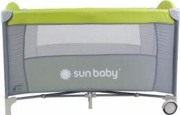 Cestovní postýlka Sunbaby Sweet dreams bez vložného lůžka SD707 zelená