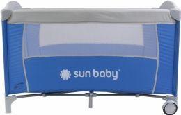 Cestovní postýlka Sunbaby Sweet dreams bez vložného lůžka SD707 modrá